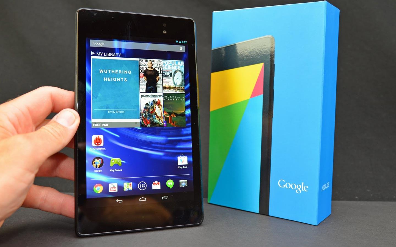 Une nouvelle tablette Google Nexus 7 à venir dans les prochains mois ?
