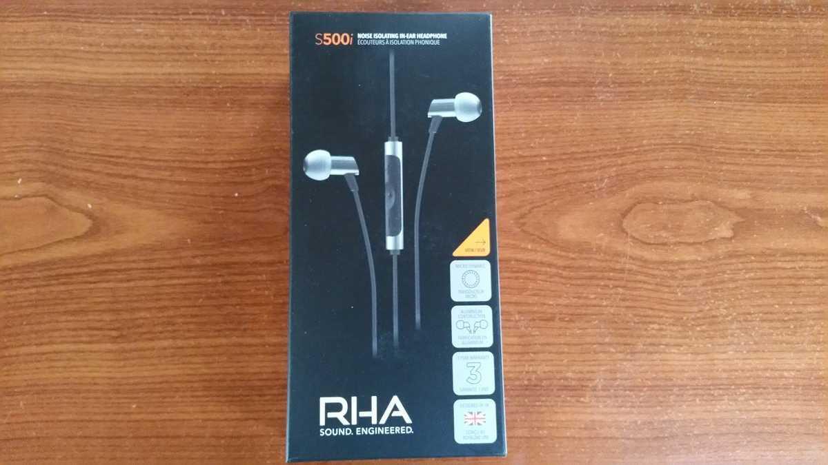 écouteurs intra-auriculaires RHA S500i