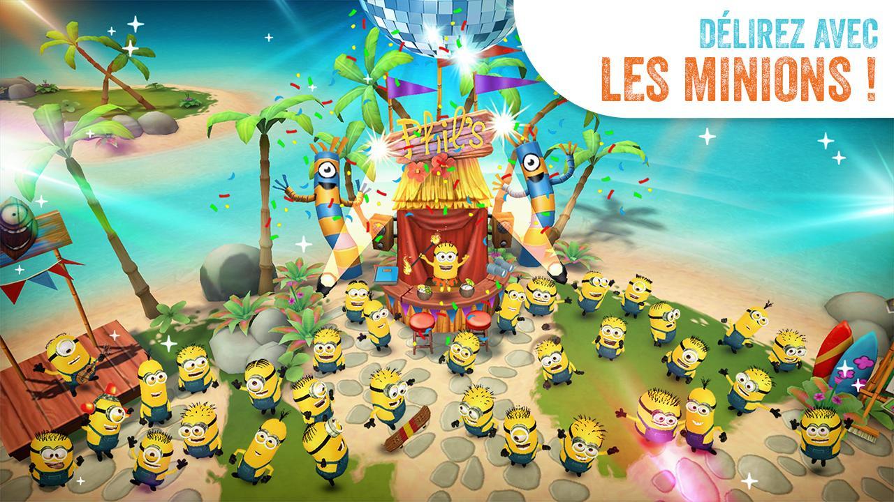Les Minions Paradise : ils débarquent sur tablette et smartphone !