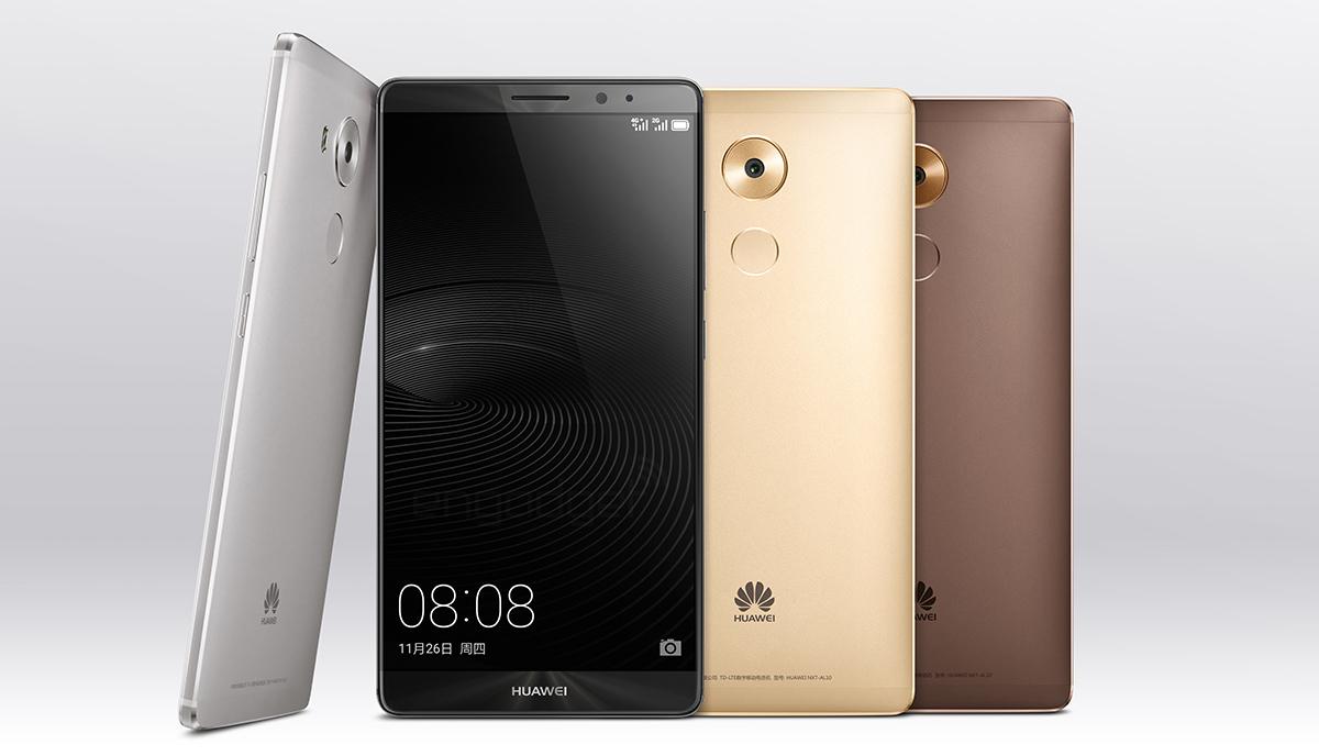 Huawei présente son nouveau flagship : voici la phablette Mate 8