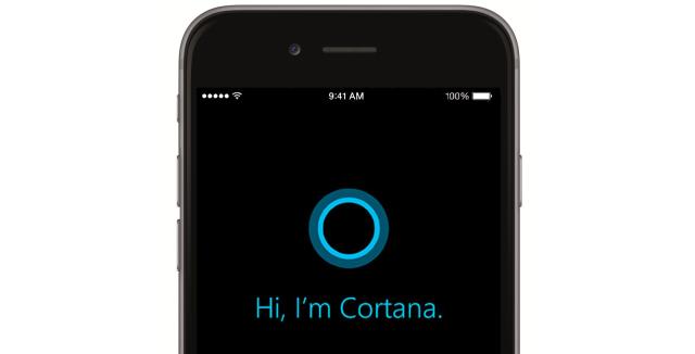 iOS : les premiers pas de l'assistant Cortana sur l'OS d'Apple