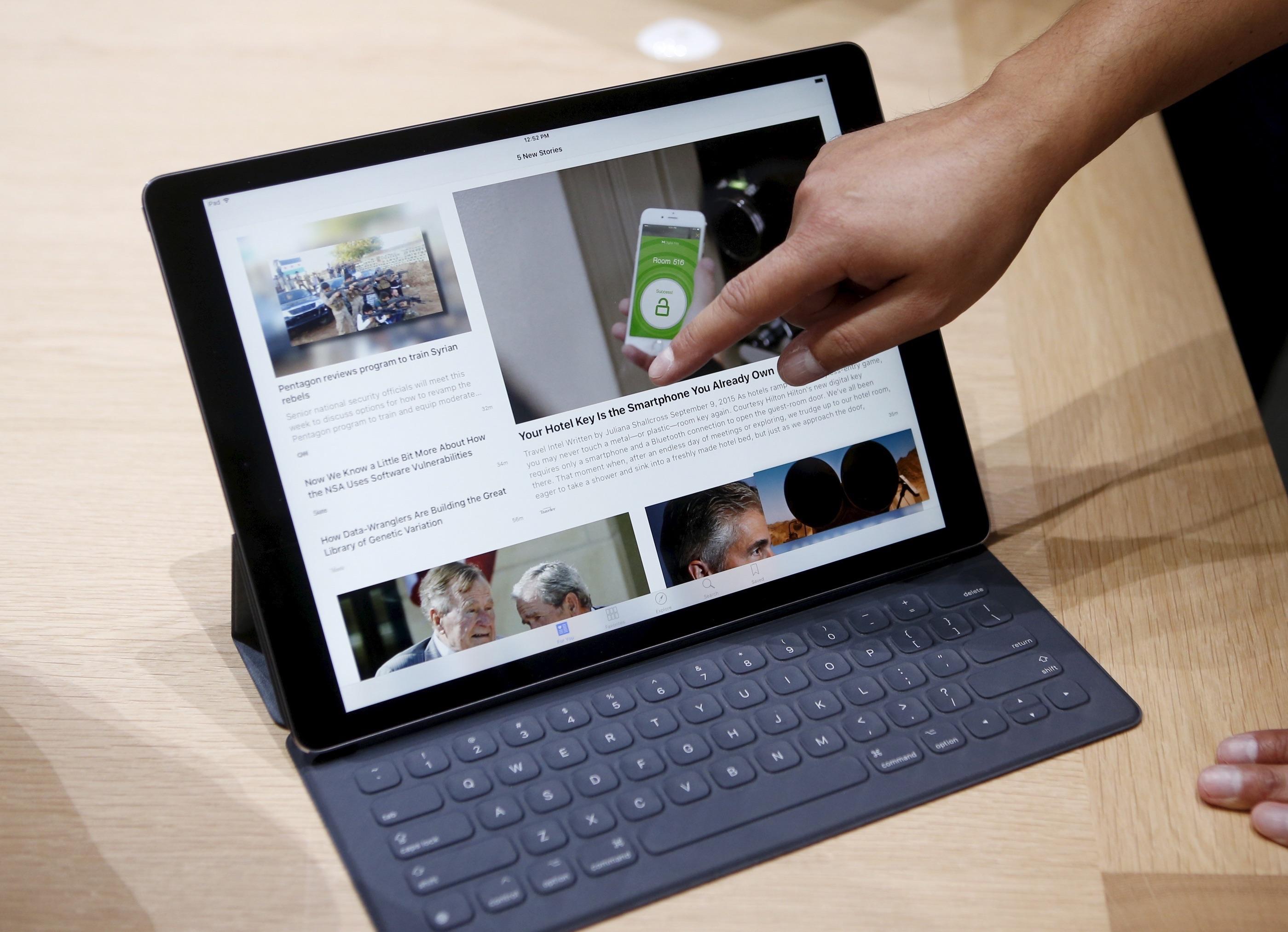 [MAJ] Le nouvel iPad Pro profite déjà d'une mise à jour vers iOS 9.1