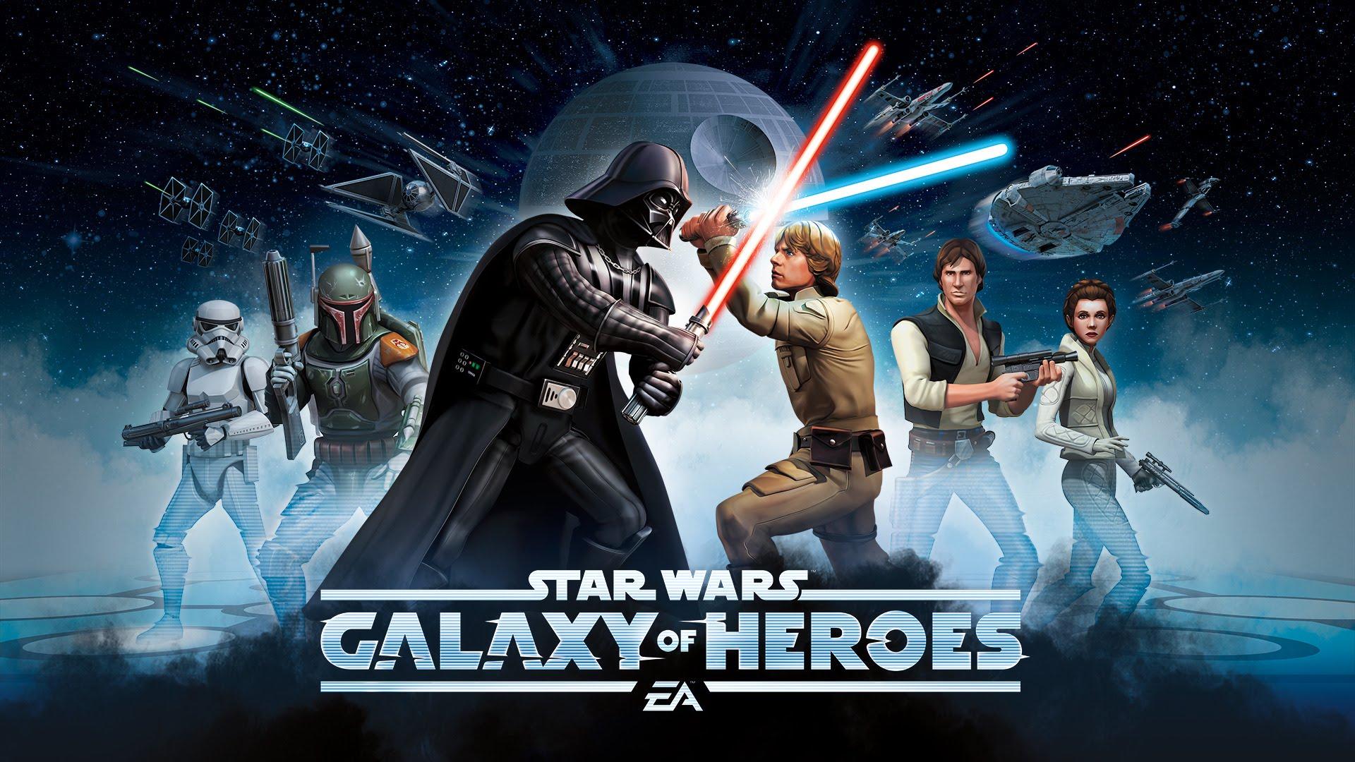 Star Wars: Galaxy of Heroes débarque sur iOS