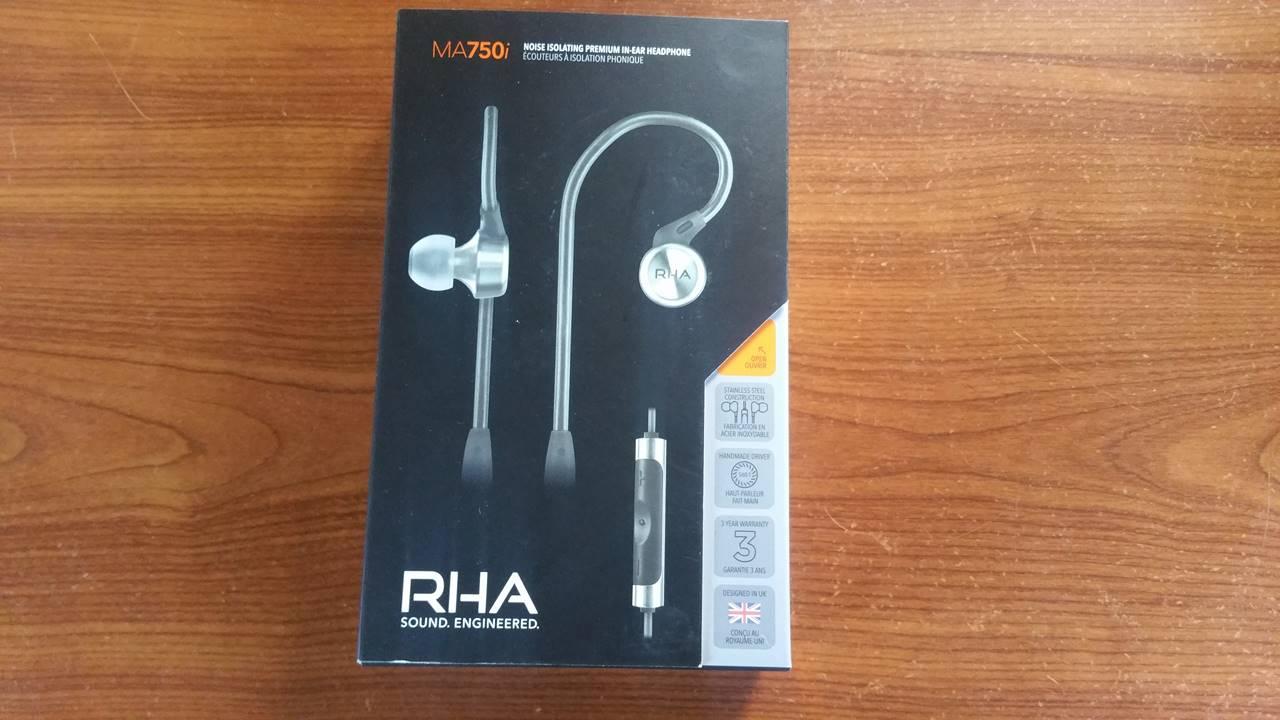 Test et avis écouteurs intra auriculaire RHA 750i
