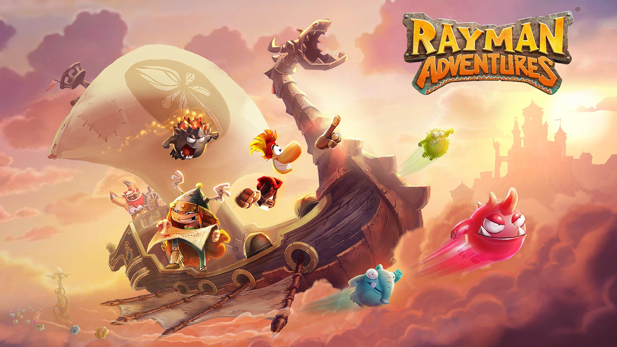 Rayman Adventures débarque sur iOS et Android, après l'Apple TV