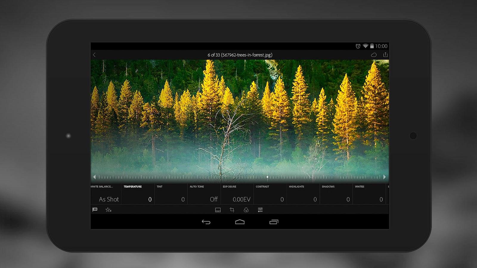 Après iOS, Adobe Lightroom gratuit également sur Android