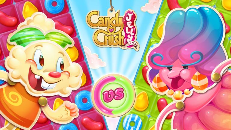 Candy Crush Jelly Saga est proposé sur toutes les plateformes