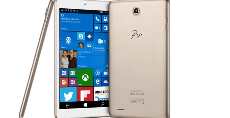 [CES 2016] L'Alcatel OneTouch Pixi 3 : une tablette de 8 pouces sous Windows 10 Mobile