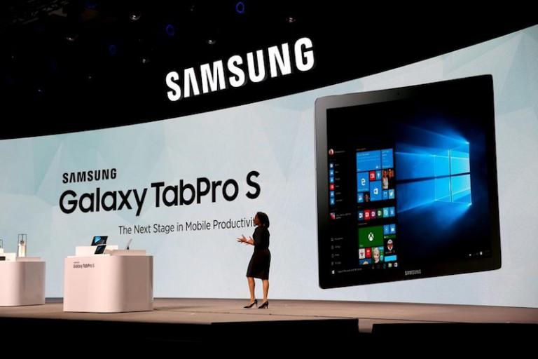 [MAJ] [CES 2016] Le Samsung Galaxy TabPro S sous Windows 10 existe bel et bien !