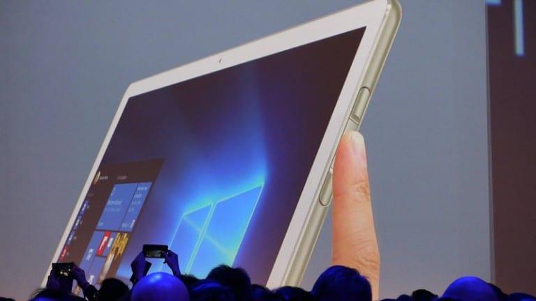 [MWC 2016] Huawei présente son premier 2-en-1, le MateBook