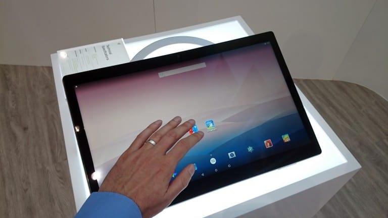 [MWC 2016] Alcatel a présenté à nouveau sa fameuse tablette Xess