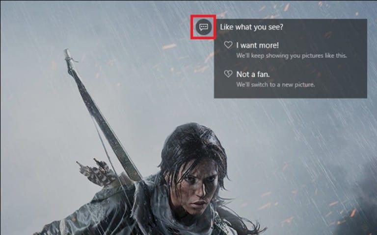 De la publicité sur l'écran de verrouillage de Windows 10 ?
