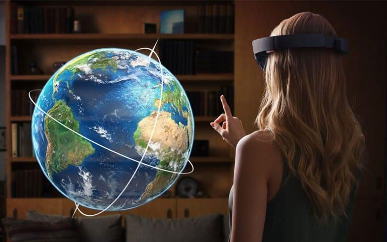 Microsoft HoloLens : l'interface HoloLens UI dévoilée dans une vidéo