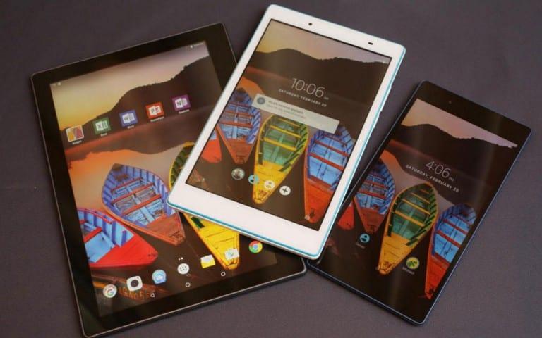 [MWC 2016] Lenovo présente trois nouvelles tablettes Android, les Tab3