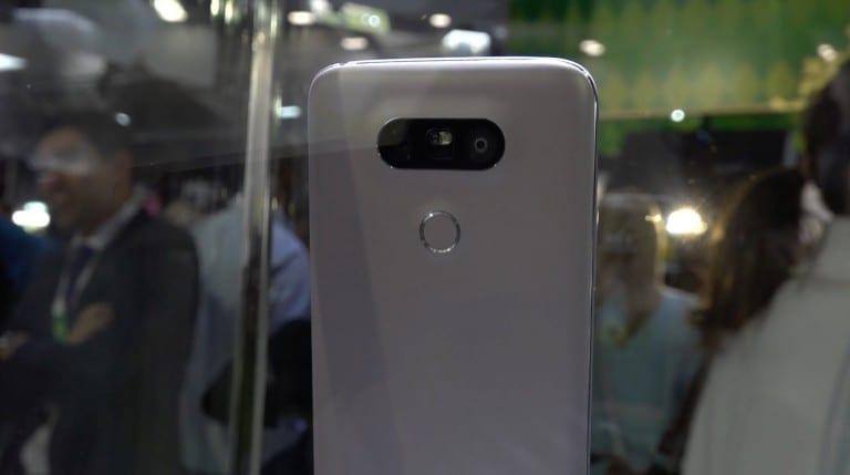 [MWC 2016] LG officialise son LG G5 partiellement modulaire !
