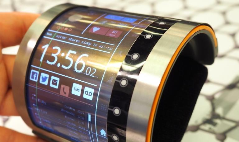 FlexEnable dévoile un prototype de tablette tactile flexible