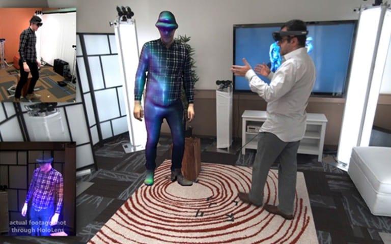 HoloLens : Microsoft présente sa première Holoportation