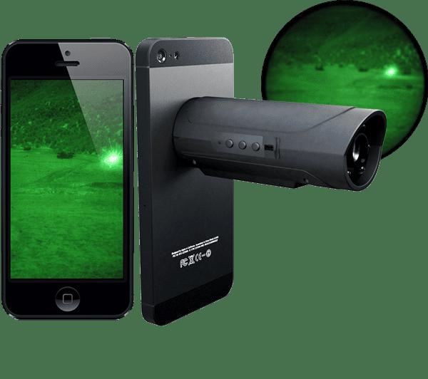 Insolite, le Snooperscope permet de passer en mode nocturne avec votre tablette