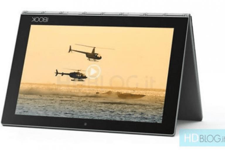 Un Lenovo Yoga Book sous Android bientôt annoncé ?