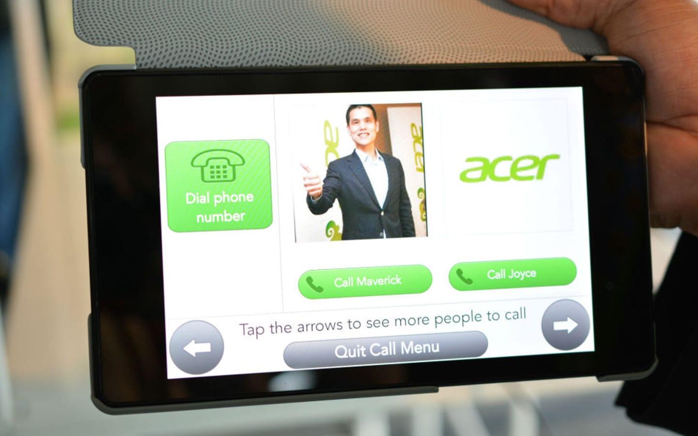 acer grandpad une tablette tactile pour les seniors. Black Bedroom Furniture Sets. Home Design Ideas