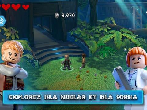 Miitomo et lego jurassic world d barquent sur ios et android - Telecharger jurassic park 4 ...