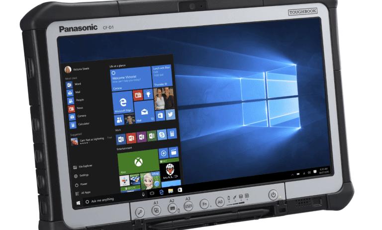 Panasonic CF-D1 : la troisième génération de la tablette indestructible