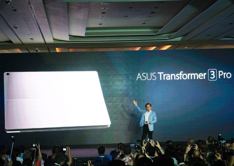 [Computex 2016] Asus présente, notamment, ses Transformer 3 et Transformer 3 Pro