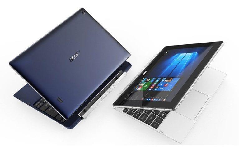 Acer lance 2 tablettes convertibles à petit prix : les Switch One 10 et Switch V 10