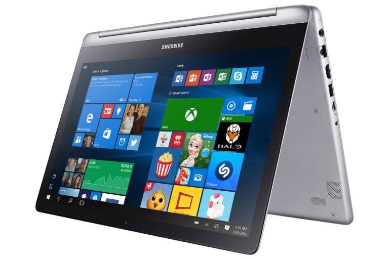 Samsung Notebook 7, le nouveau 2-en-1 du constructeur coréen