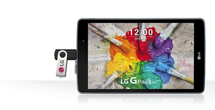 LG G Pad III 8.0 : une nouvelle tablette 4G Full HD pas cher