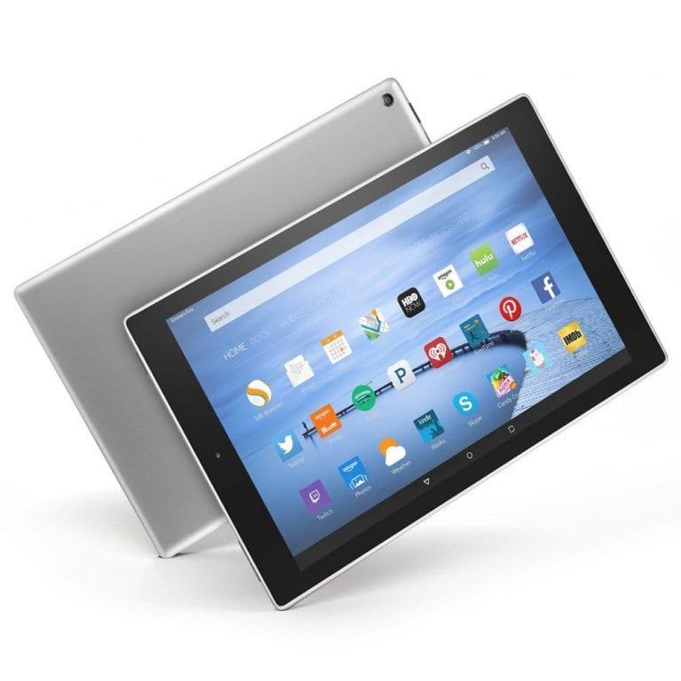 Amazon propose une tablette Fire HD 10… en aluminium
