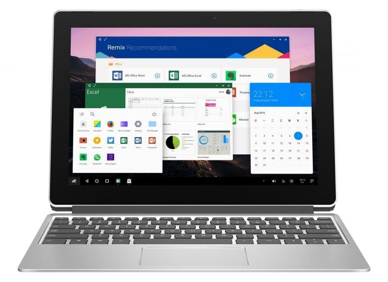 Le Jide Remix Pro : une tablette sous l'encourageant Remix OS