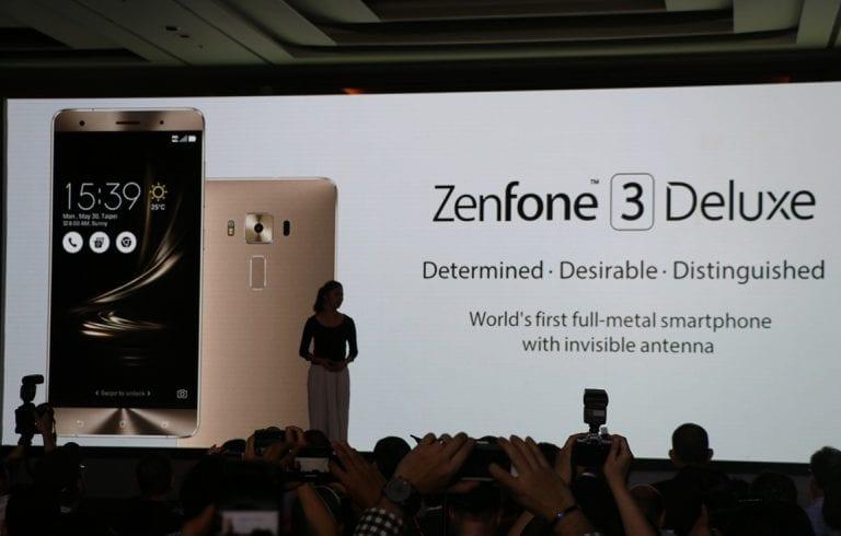 L'un des Asus ZenFonde 3 Deluxe sera le premier modèle muni du Snapdragon 821, récemment officialisé
