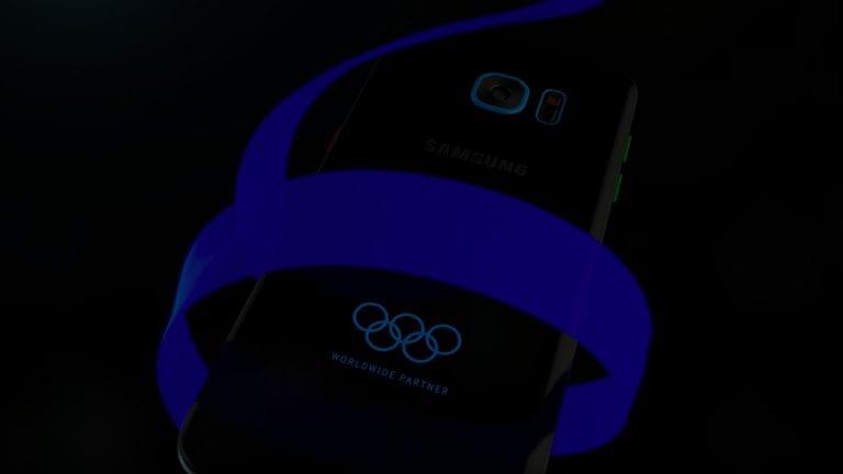 Samsung Galaxy S7 Olympic Games Edition : une variante à l'occasion des futurs  Jeux Olympiques de Rio
