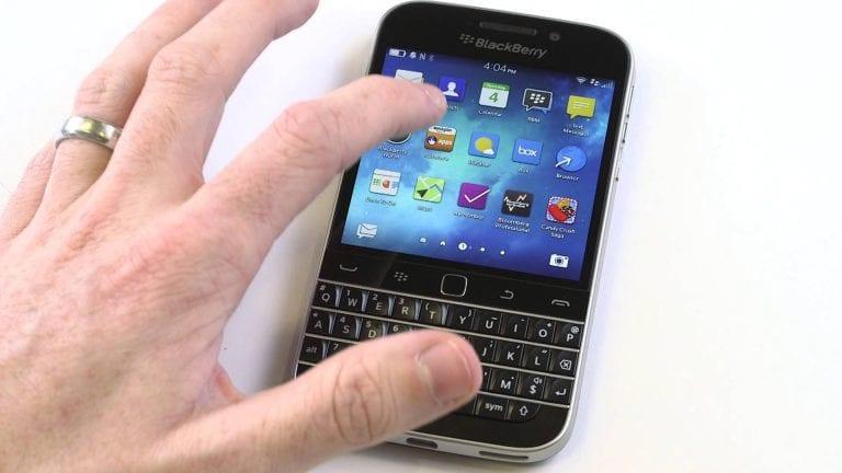 BlackBerry assume sa défaite et estime que le «tactile a [finalement] gagné»