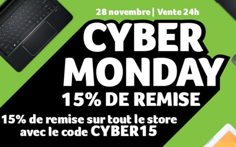 [Bon plan]Cyber Monday sur le store d'Acer : 15% de réduction sur l'ensemble de la boutique !